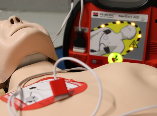 Image de l'actualité Sensibilisation à la lutte contre l'arrêt cardiaque pour les salariés partant à la retraite